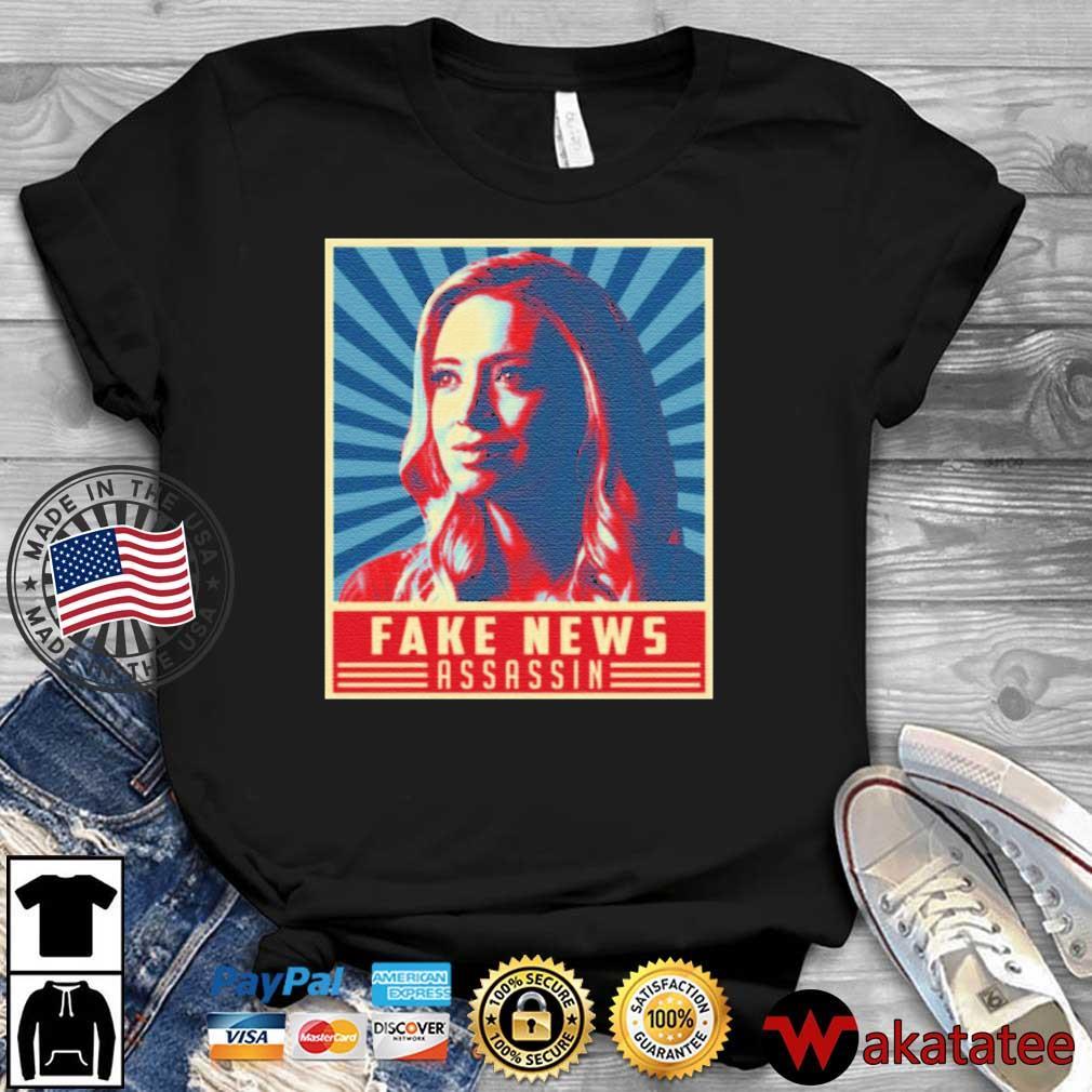 Fake News Assassin Kayleigh Press Secretary Mcenany Shirt