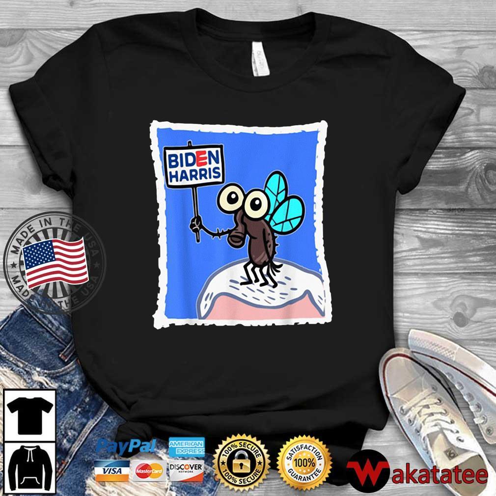 Fly On Mike Pence Head Biden Harris shirt