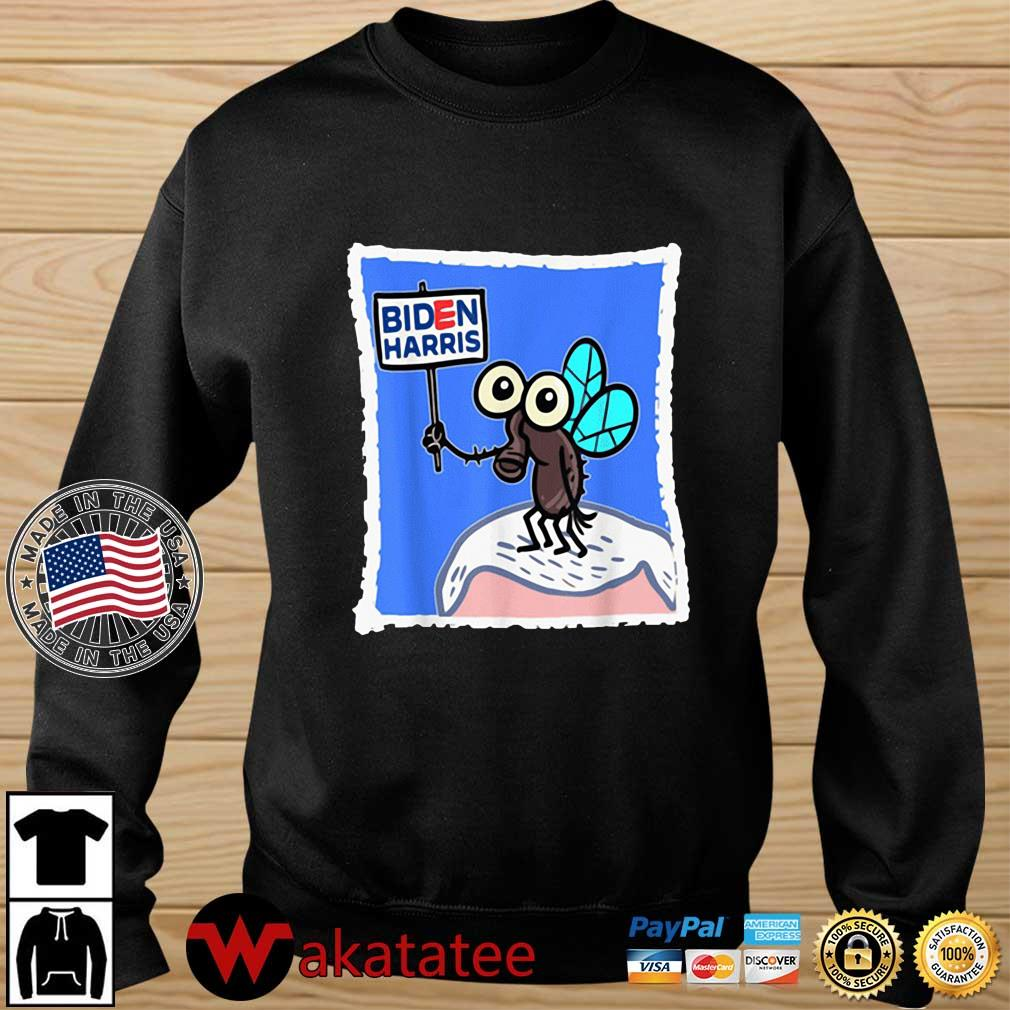 Fly On Mike Pence Head Biden Harris s Wakatatee sweater den