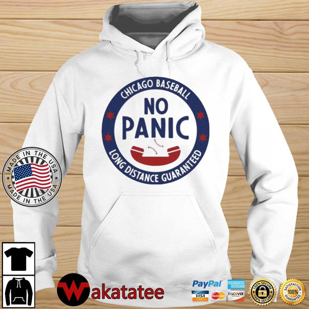 Ian Happ Chicago Cubs No Panic Phone Shirt Wakatatee hoodie trang