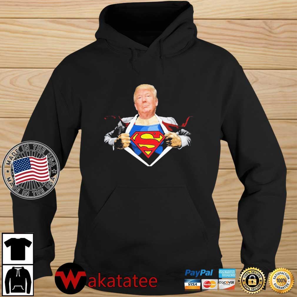 Trump Supperman s Wakatatee hoodie den