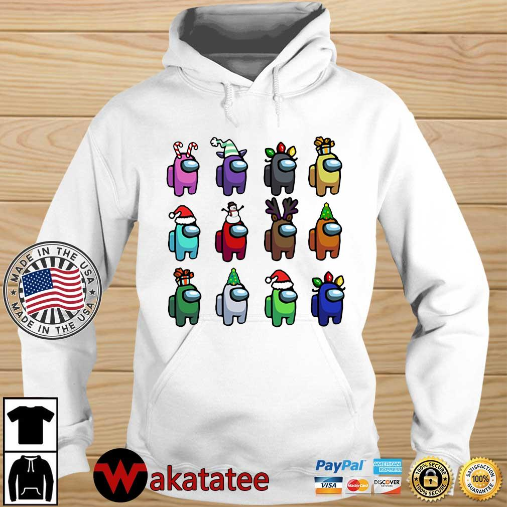 Among Us Character Customize Christmas 2020 Sweats Wakatatee hoodie trang