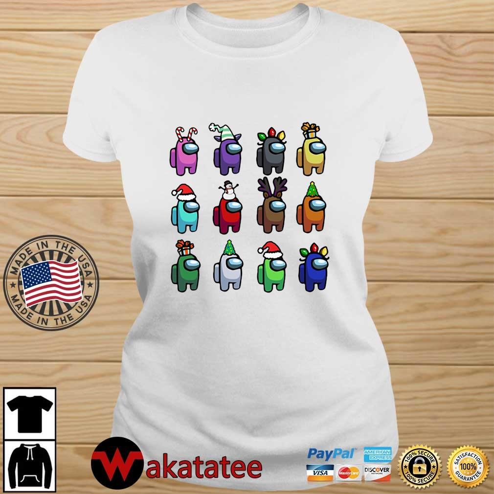 Among Us Character Customize Christmas 2020 Sweats Wakatatee ladies trang