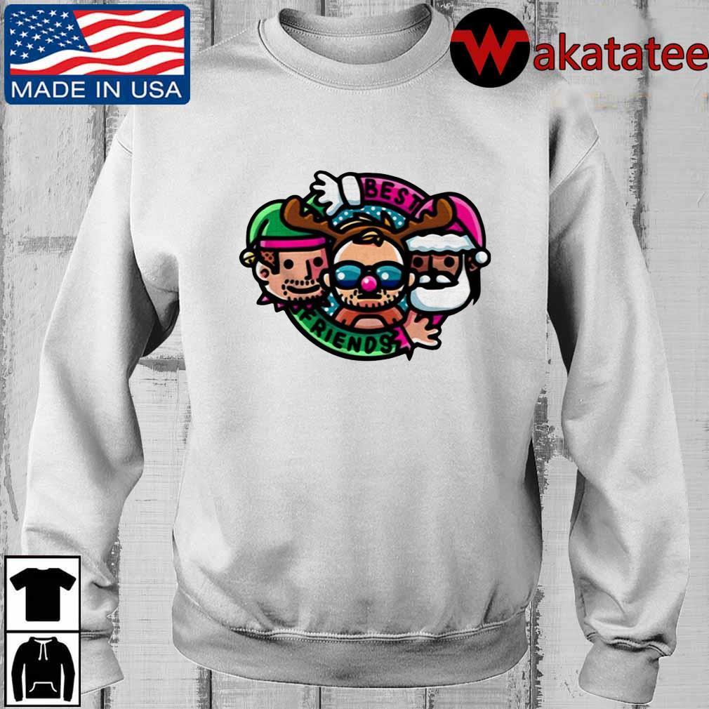 Best Friends And Orange Cassidy Best Friends Christmas Cartoon sweater