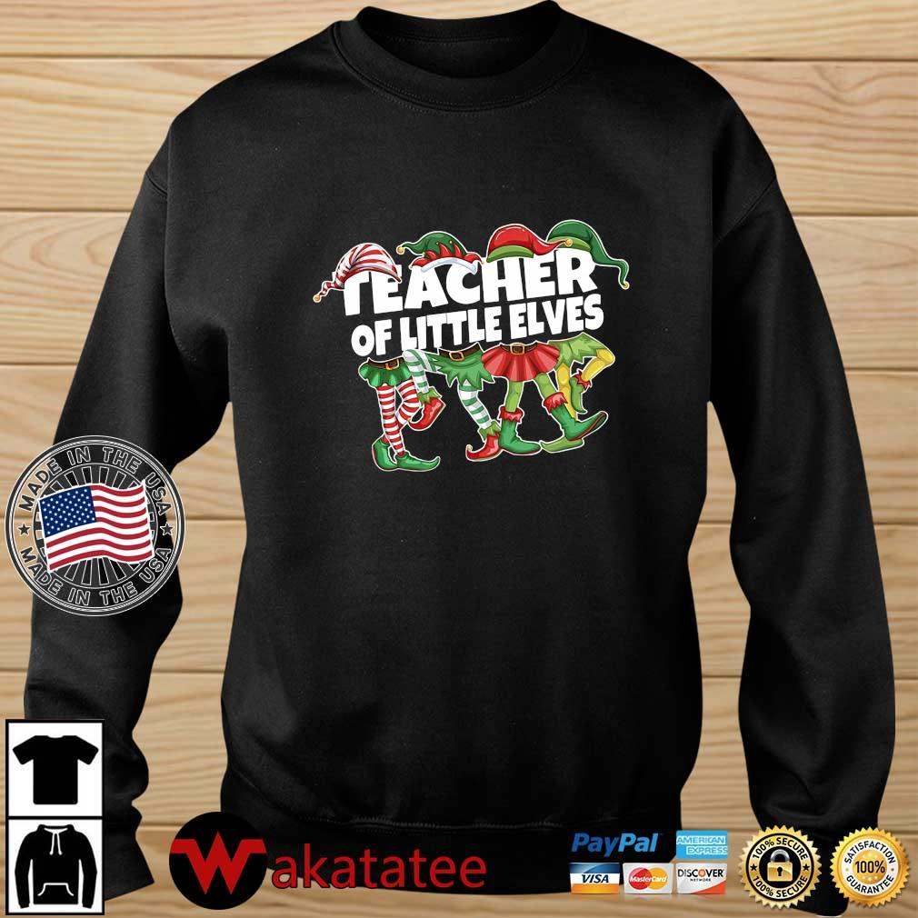 Elf Teacher Of Little Elves Christmas Sweater