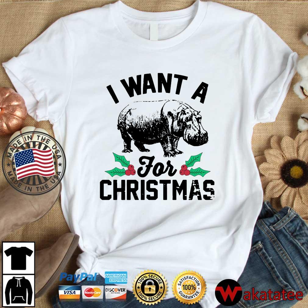 I want a hippopotamus for Christmas sweater, s Wakatatee dai dien trang