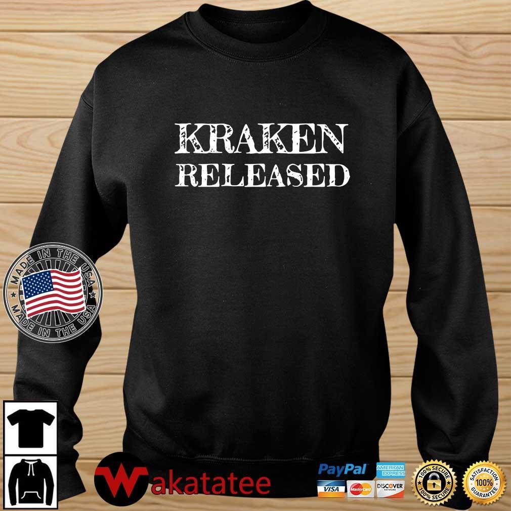 Kraken released shirt