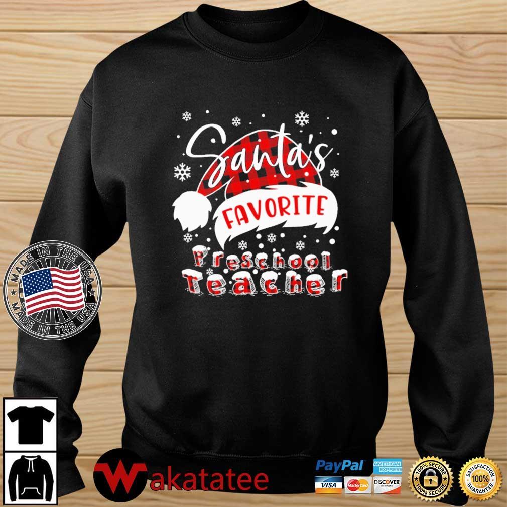 Santa's Favorite Preschool Teacher Sweater