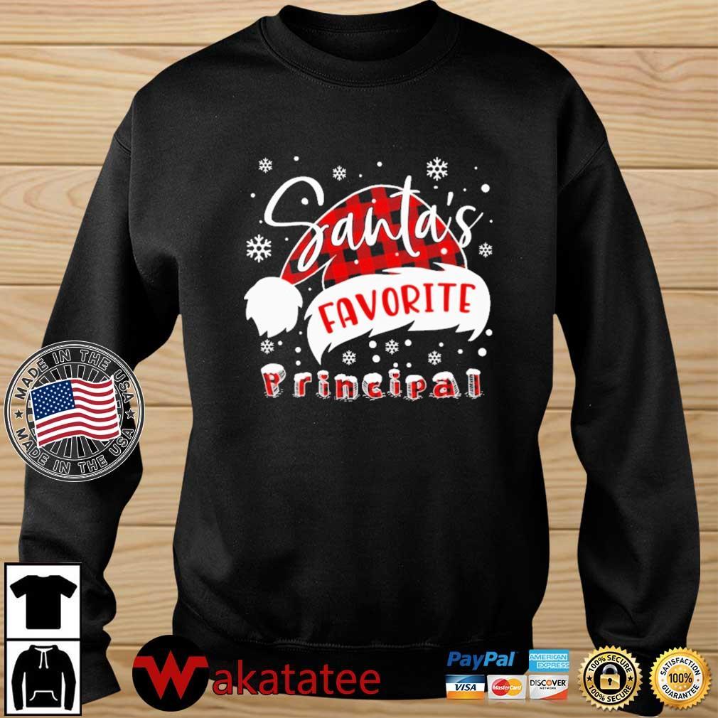 Santa's Favorite Principal Sweater