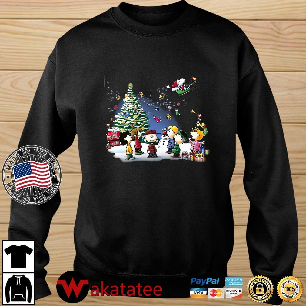 The Peanuts character Merry Christmas sweater