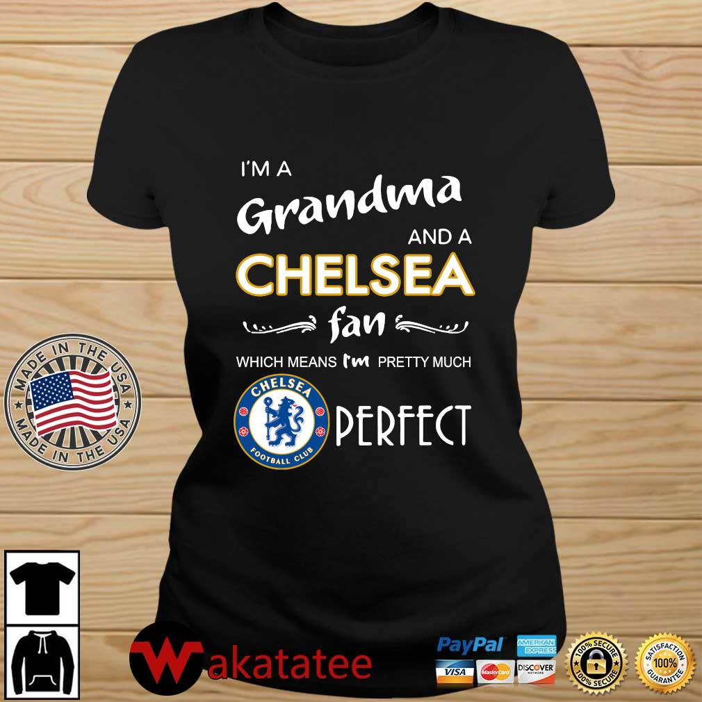 I'm a grandma and a Chelsea fan which means I'm pretty much perfect s Wakatatee ladies den