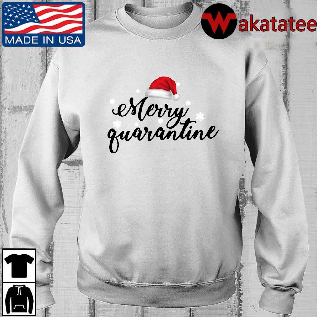 Merry quarantine merry Christmas sweater