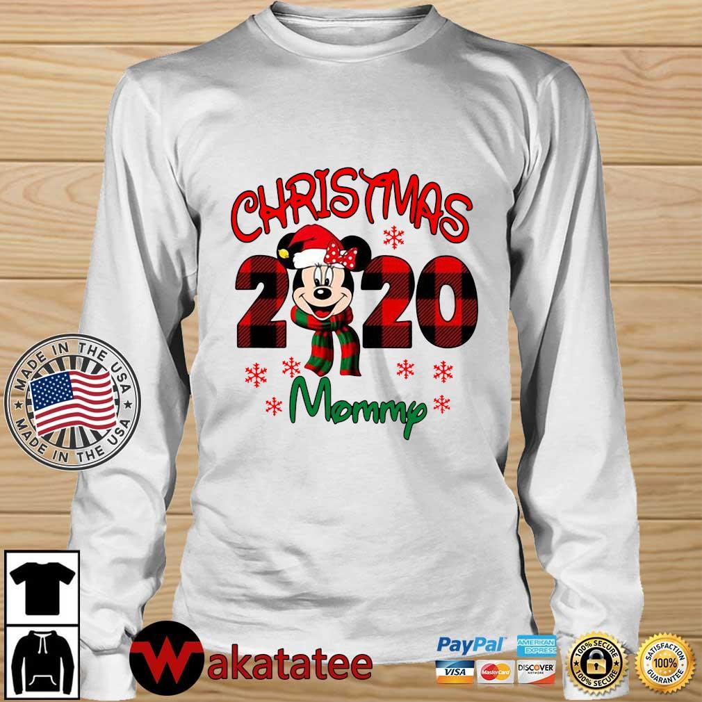 Mickey Mouse Christmas 2020 mommy sweater Wakatatee longsleeve trang